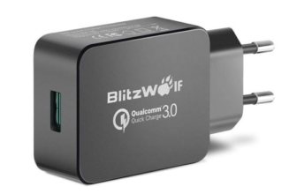 BlitzWolf BW-S5 USB Charger EU Adapter QC3.0 18W With Power3S [Banggood]